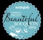 Weddingbells Magazine pick 18th on most beautiful wedding bouquet in 2014