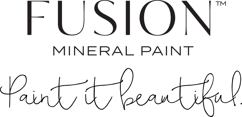 Fusion logo with tag transparent